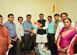 Former Chief Minister of Maharashtra visited at IEI-Nashik Local Centre